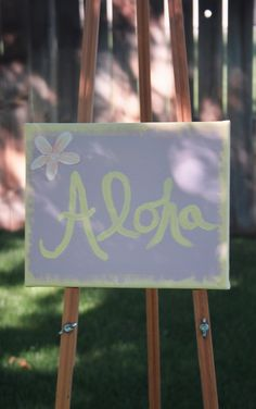 """""""Aloha 8 x 10 inch acrylic & paper on canvas Canvas, Paper, Seaweed, Tela, Canvases"""