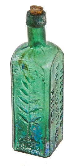 original early 1860's skillfully crafted emerald green hand-blown