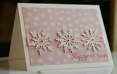 I have to pin anything with paper snowflakes.