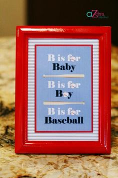 Hostess with the Mostess® - Baseball Baby Shower