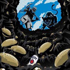 Carolina Panthers, Movies, Movie Posters, Art, Art Background, Films, Film Poster, Kunst, Cinema