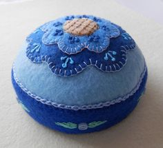 The blues pin cushion.  By me.