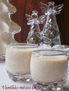 vaníliás mézes likőr
