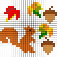 Autumn Perler Bead Patterns