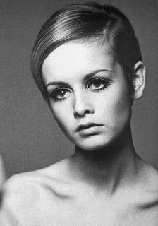 Twiggy with Pixie Haircut