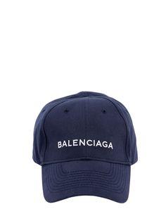 53997376e0b BALENCIAGA LOGO EMBROIDERED GABARDINE HAT.  balenciaga