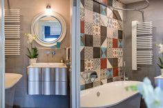 Узорная плитка в интерьере: ванная комната и коридор – Вдохновение