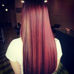 Multi tone hair colours
