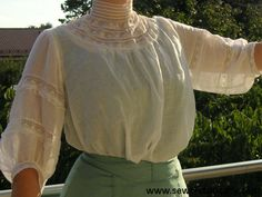 edwardian 1900s lace muslin lingerie dress