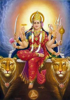 Please Shower your Blessings to the whole world #Durga Maa.