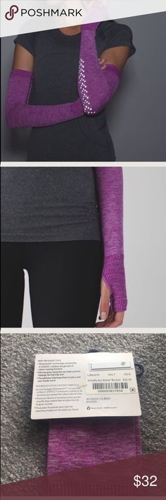 Lululemon Swiftly Arm Warmer Reflective NWT XS/S Lululemon Swiftly Arm Warmer Reflective NWT XS/S HULT.  ❎NO TRADES. lululemon athletica Accessories