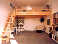 Loft room, mezzanine bedroom, bedroom with loft, mezzanine floor, dre