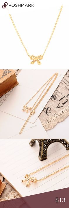 Cute Necklace! Valentine's Day Gift! Cute Gold Plated Pendant Necklace. Length: 17inch Jewelry Necklaces