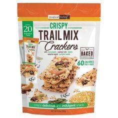 In season snacks Trail Mix Crackers Individual Packs Cheese Powder, Powdered Milk, Oven Baked, Serving Size, Raisin, Crackers, Baking Soda, Chips, Pumpkin
