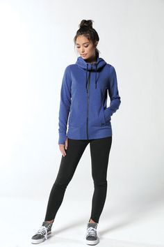 c817855ce517 New Era Tri-blend Fleece hoodie. Designed for comfort and with modern  details.