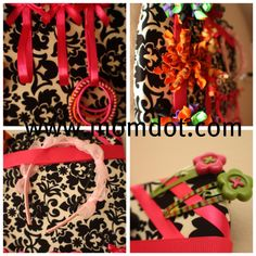 How to make a hairbow holder that can hold your hair bows, pony-o's (pony tails) and headbands all at once!