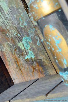 Aprende como hacer: Efecto oxidado en madera