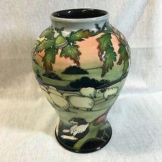 Moorcroft Swaledale Vase