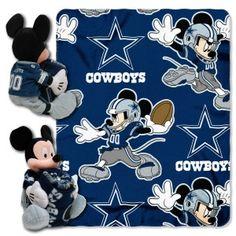 Dallas Cowboys Disney Hugger Blanket