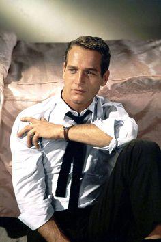 Paul Newman; 1/26/1925 - 2008.  Shaker Heights, Ohio