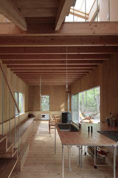 Naka Studio - Villa, Hakuba 2011. Photos © Koichi Torimura.