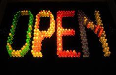 Lite-Brite sign at Mother Superior vintage shop in Tijuana   Flickr - Photo Sharing!