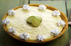 I saw this in the Food section of the Cincinnati Enquirer October 30 2002 Pg E3. By Chef Sandra Wilson. I really like Key Lime Pie and until this recipe have never found one that satisfied me.