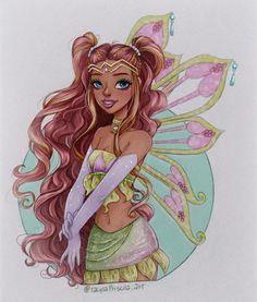 Winx Club, Dessin Animé Lolirock, Las Winx, Amazing Drawings, Illustrations, Princesas Disney, Magical Girl, Disney Love, Little Pony