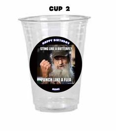 Duck Dynasty Birthday Party  Cups Tableware by TracysBirthdayShop, $10.00