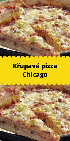 Lasagna, Quiche, Pork, Food And Drink, Chicago, Pizza, Meat, Baking, Ethnic Recipes