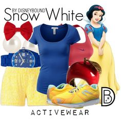 """""""Snow White"""" by leslieakay on Polyvore"""