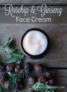 Rosehip & Ginseng Face Cream Recipe