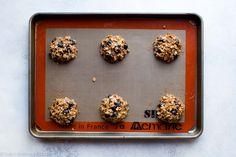 Blueberry breakfast cookies on sallysbakingaddiction.com
