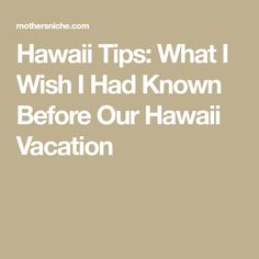 After traveling to 3 different Hawaiian Islands two years in a row, here are all my best Hawaii tips. Everything I wish I knew on my first Hawaii Vacation Hawaii Vacation Tips, Hawaii Destinations, Honeymoon Vacations, Hawaii Honeymoon, Hawaii Travel, Best Vacations, Vacation Spots, Vacation Ideas, Travel Usa