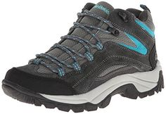 Northside Womens Pioneer Trail Running ShoeDark GrayDark Turquoise85 M US ** Click image for more details.