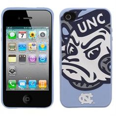 North Carolina Tar Heels (UNC) Mascot Silicone iPhone 4 Cover
