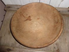 Primitive Wooden Turn Bowl Collectible Old  #NaivePrimitive #Handmade