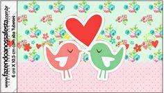 Pajaritos Enamorados: Etiquetas para Candy Bar para Boda para Imprimir Gratis.