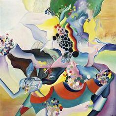 Le vent à tourné - Theo Gerber - Surrealism, 1970