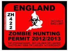 Zombie Stickers at Big Cat Sticker Shack