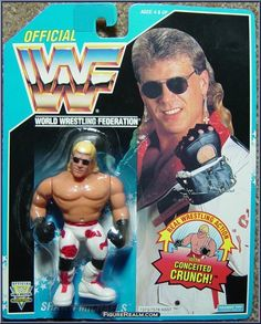 Wrestling Superstars, Wrestling Wwe, Wwf Toys, Wwf Hasbro, Modern Toys, Shawn Michaels, Now And Forever, Childhood Toys, Classic Toys