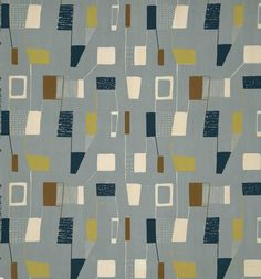 lucienne day fabric, from dwell's mid century slideshow