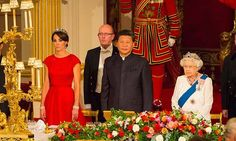 The spotlight fell on Kate in October as she donned a tiara for her first state dinner. She joined her husband and the monarch in welcoming Chinese President Xi Jinping and his wife Peng Liyuan to Buckingham Palace.