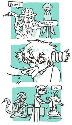 Meruem and Komugi ~Hunter X Hunter Anime Couples Manga, Cute Anime Couples, Anime Manga, Manga Girl, Anime Girls, Anime Art, Killua, Hisoka, Hunter X Hunter Komugi