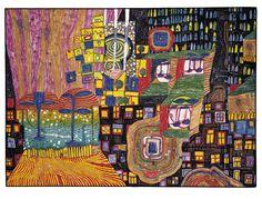 690 Green Power, 1972 by Friedensreich Hundertwasser. figurativ… 690 Green Power, 1972 by Friedensreich Hundertwasser. Friedensreich Hundertwasser, Norman Rockwell, Art Quotidien, Arte Elemental, Art Ancien, Artwork Images, Art Lessons Elementary, Art Database, Mondrian