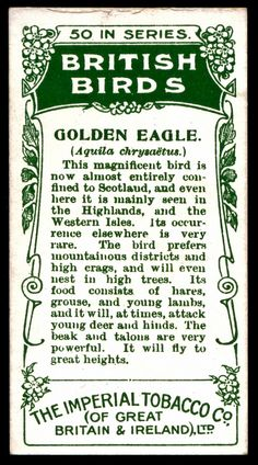 Cigarette Card Back - Imperial Tobacco Co | Flickr - Photo Sharing!