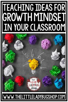 Growth Mindset Teaching Ideas and Growth Mindset Freebie for teaching grit, growth mindset activities #growthmindsetbulletinboard #GrowthMindsetFreebie #GrowthMindsetactivities