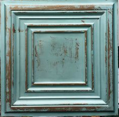 PL05 Old copper faux  tin PVC 3D bathroom kitchen roofing ceiling tiles board