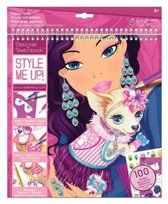 Style me up 1431 - Zeichenbuch Hundemode