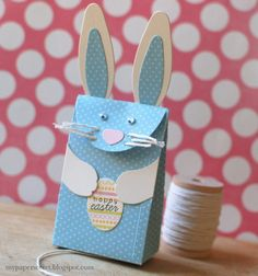 Happy Easter Bunny Bag by Cristina Kowalczyk for Papertrey Ink (February 2014)